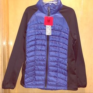 Blue/black Women's Puff Jacket